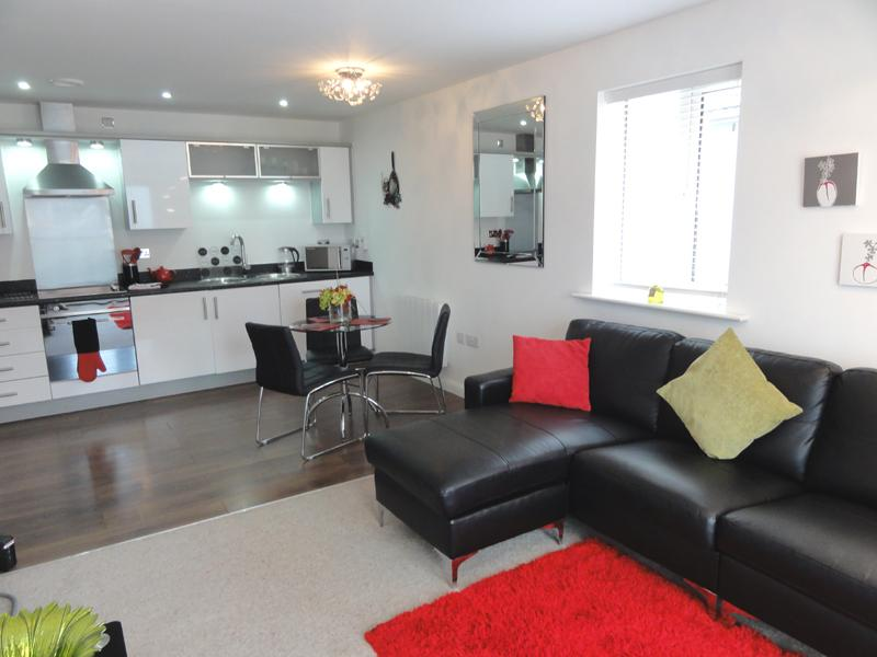 Furnished apartment overlooking Chester Racecourse